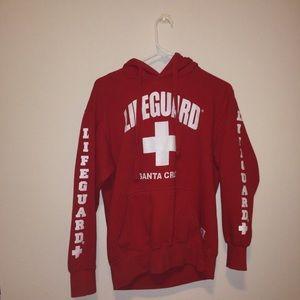 Actual lifeguard hoodie Santa Cruz